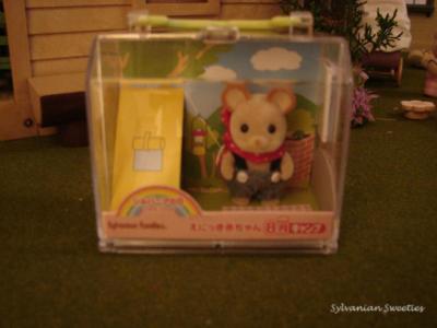 Calendar Baby - August Mouse