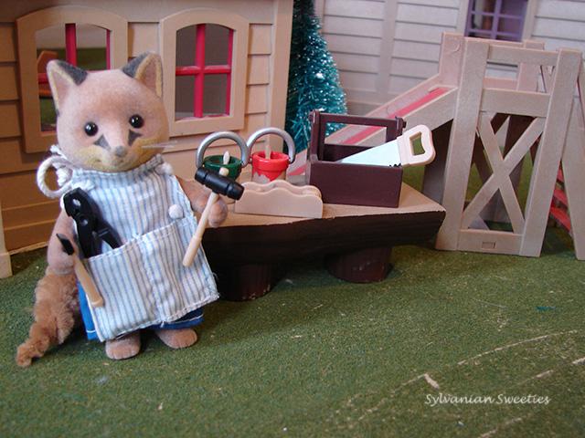 UK Renard Father Fox Building Set