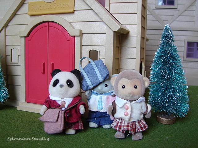 Exchange Students - Panda Girl, Koala Boy, Monkey Girl