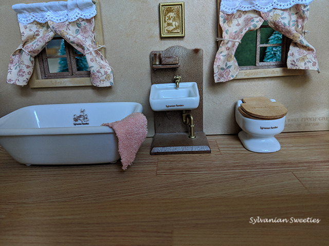 JP Ceramic Bathroom. Some of my favorite pieces that are over 30 years old!