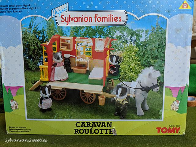 UK Caravan in box